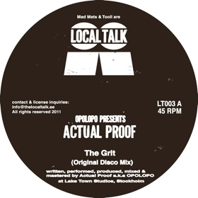 Actual Proof/THE GRIT-HUFF & PUFF 12""