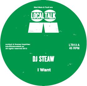 """DJ Steaw/I WANT & SKY HUNT 12"""""""