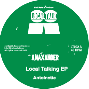 Anaxander/LOCAL TALKING EP 12""