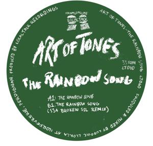 "Art Of Tones/THE RAINBOW SONG 12"""