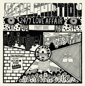 """Soulphiction/24-7 LOVE AFFAIR PT 1 12"""""""