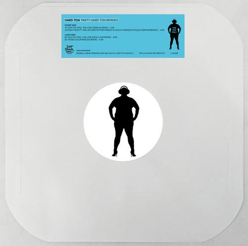 Hard Ton/PARTY HARD TON REMIXES EP 12""