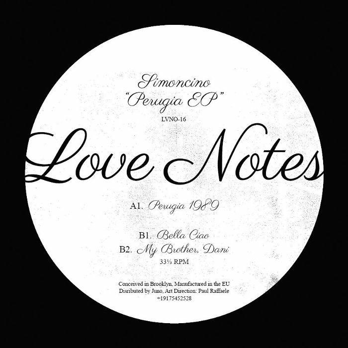 """Simoncino/PERUGIA EP 12"""""""