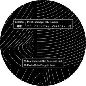 "Takecha/DEEP SOUNDSCAPES: REMIXES 12"""