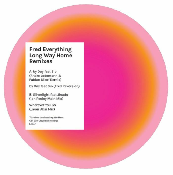 """Fred Everything/LONG WAY HOME RMX'S 12"""""""