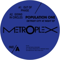 """Population One/DETROIT CITY AT NIGHT 12"""""""