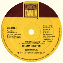 "Thelma Houston/I'M HERE...-D. KRIVIT 12"""
