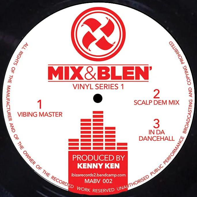 """Kenny Ken/VIBING MASTER 12"""""""