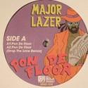 "Major Lazer/PON DE FLOOR 12"""