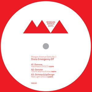 "Osmose & ByDesign/DISCO EMERGENCY EP 12"""