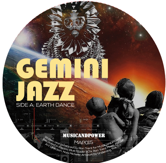 Gemini Jazz/EARTH DANCE 12""
