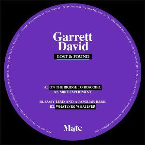"Garrett David/LOST & FOUND 12"""