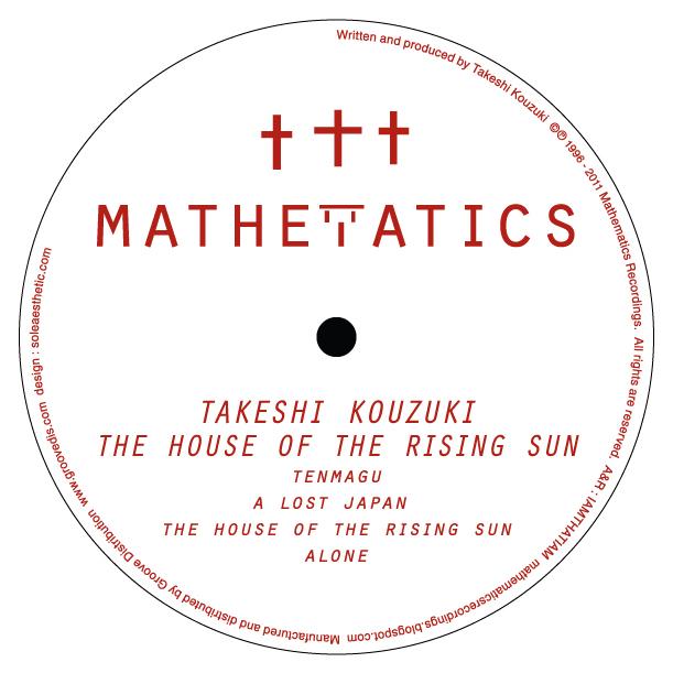 "Takeshi Kouzuki/HOUSE OF THE RISING..12"""