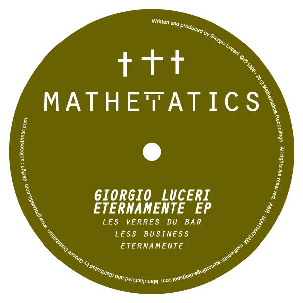 """Giorgio Luceri/ETERNAMENTE EP 12"""""""