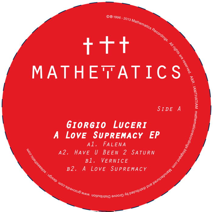 "Giorgio Luceri/A LOVE SUPREMACY 12"""