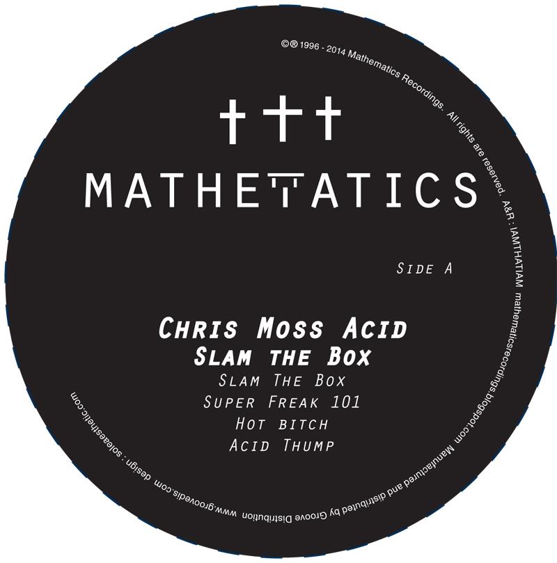 "Chris Moss Acid/SLAM THE BOX 12"""