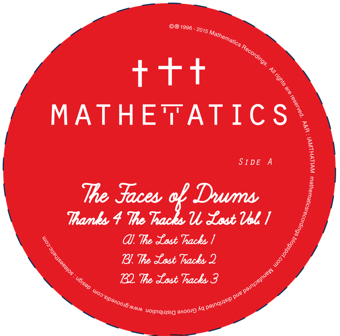 """Face Of Drums/THANKS 4 THE TRACKS V1 12"""""""