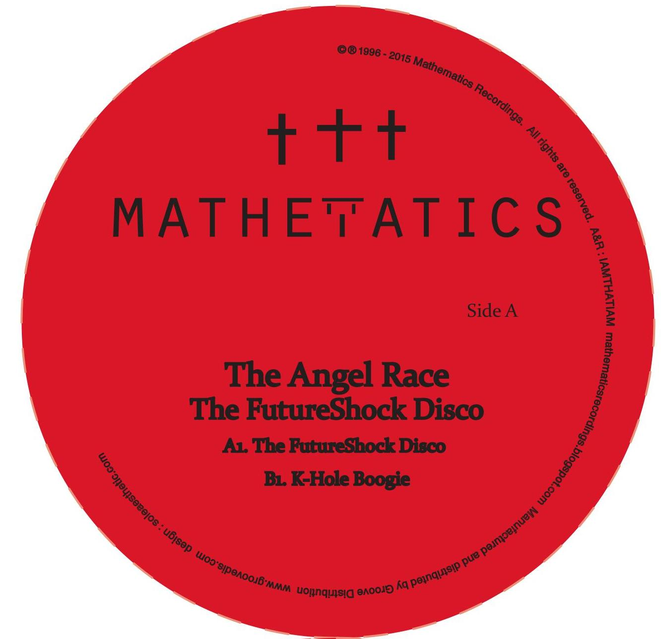 Angel Race, The/FUTURESHOCK DISCO 12""