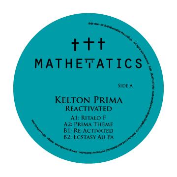 "Kelton Prima/REACTIVATED EP 12"""