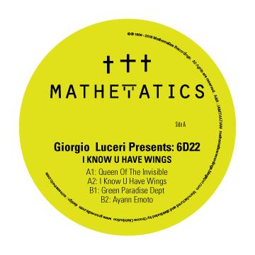 "Giorgio Luceri Pres 6D22/WINGS EP 12"""