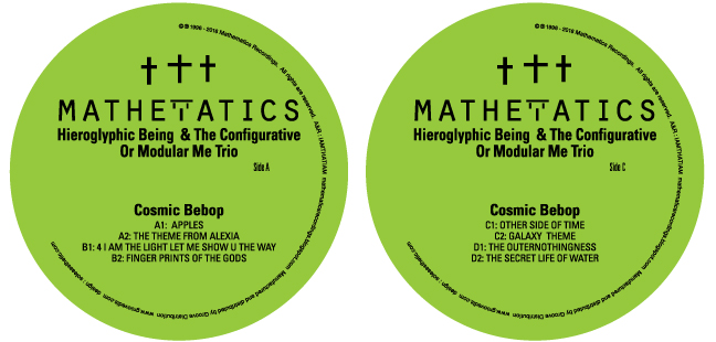 Hieroglyphic Being/COSMIC BEBOP D12""