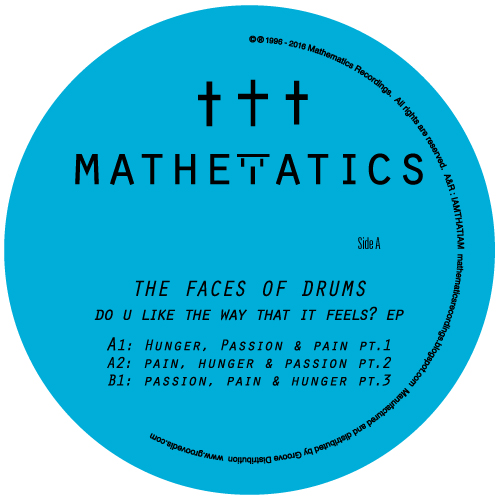 Face Of Drums/DO U LIKE THE WAY.. 12""