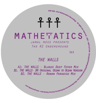 "J Moss & R2 Underground/THE WALL LTD 12"""