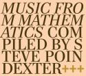 Steve Poindexter/MUSIC FROM MATH... CD