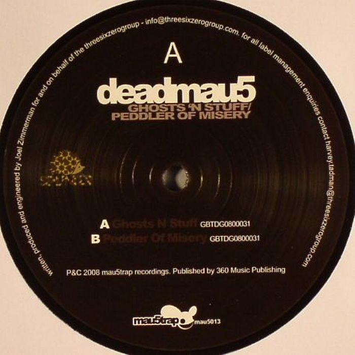 Deadmau5/GHOSTS N STUFF (ORIGINAL) 12""