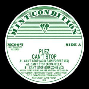 """Plez/CAN'T STOP 12"""""""