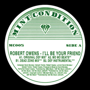Robert Owens/I'LL BE YOUR FRIEND 12""