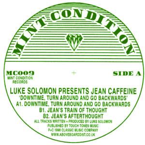 "Jean Caffeine/DOWNTIME, TURN AROUND 12"""