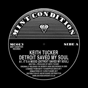 """Keith Tucker/DETROIT SAVED MY SOUL 12"""""""