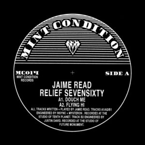 "Jaime Read/RELIEF SEVENSIXTY 12"""