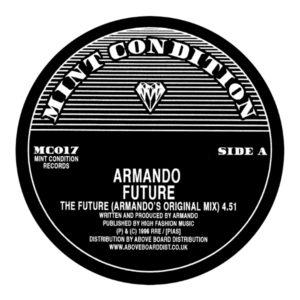 """Armando/THE FUTURE (CAJMERE REMIX) 12"""""""