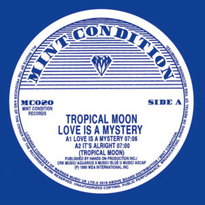 """Tropical Moon/LOVE IS A MYSTERY 12"""""""
