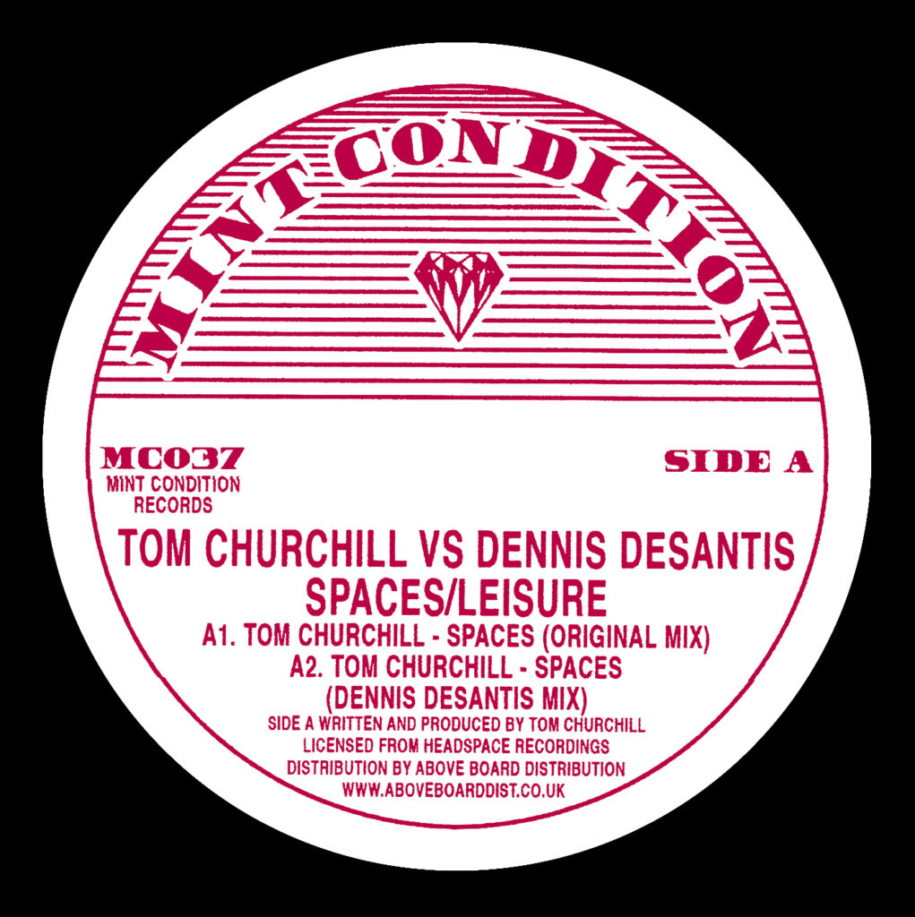 Tom Churchill/SPACES 12""