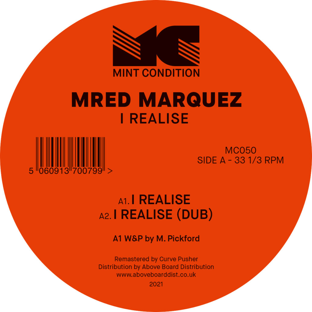 """Mred Marquez/I REALISE 12"""""""