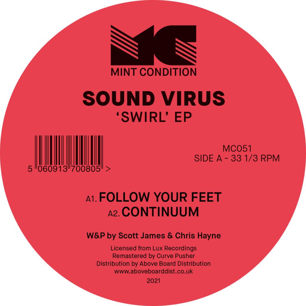 """Sound Virus/SWIRL EP 12"""""""