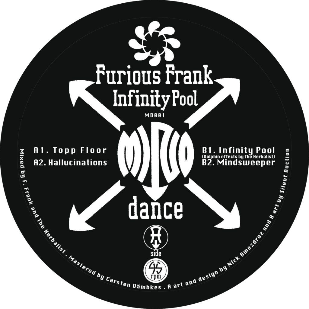 "Furious Frank/INFINITY POOL 12"""