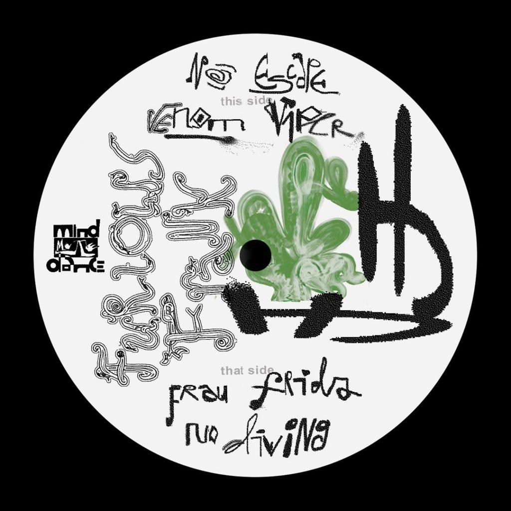 "Furious Frank/VENOM VIPER EP 12"""