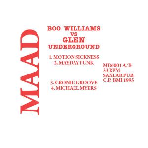 Boo Williams VS Glenn Underground/VS DLP