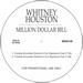 "Whitney Houston/MILLION DOLLAR BILL 12"""