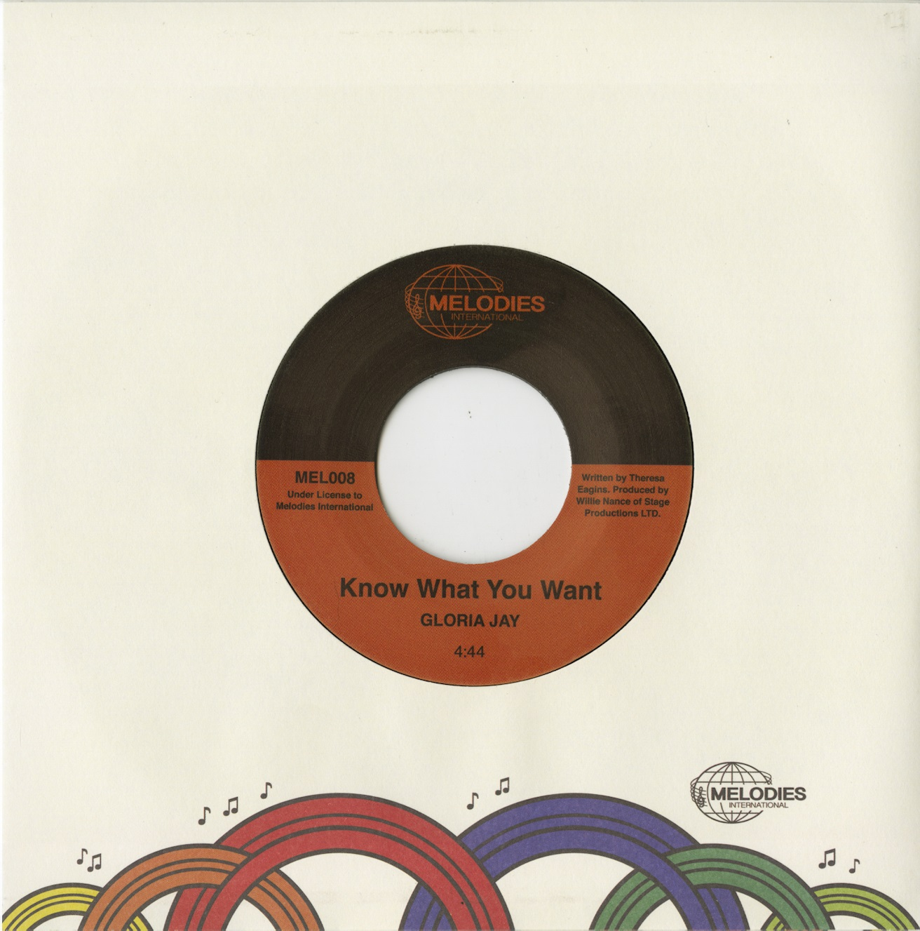 Gloria Jay/KNOW WHAT YOU WANT 7""