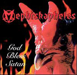 Mephiskapheles/GOD BLESS SATAN LP
