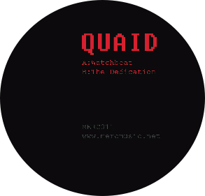 Quaid/WATCHBEAT & DEDICATION 12""