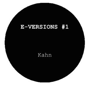 "E-Versions/#1 KAHN & MINGO 12"""