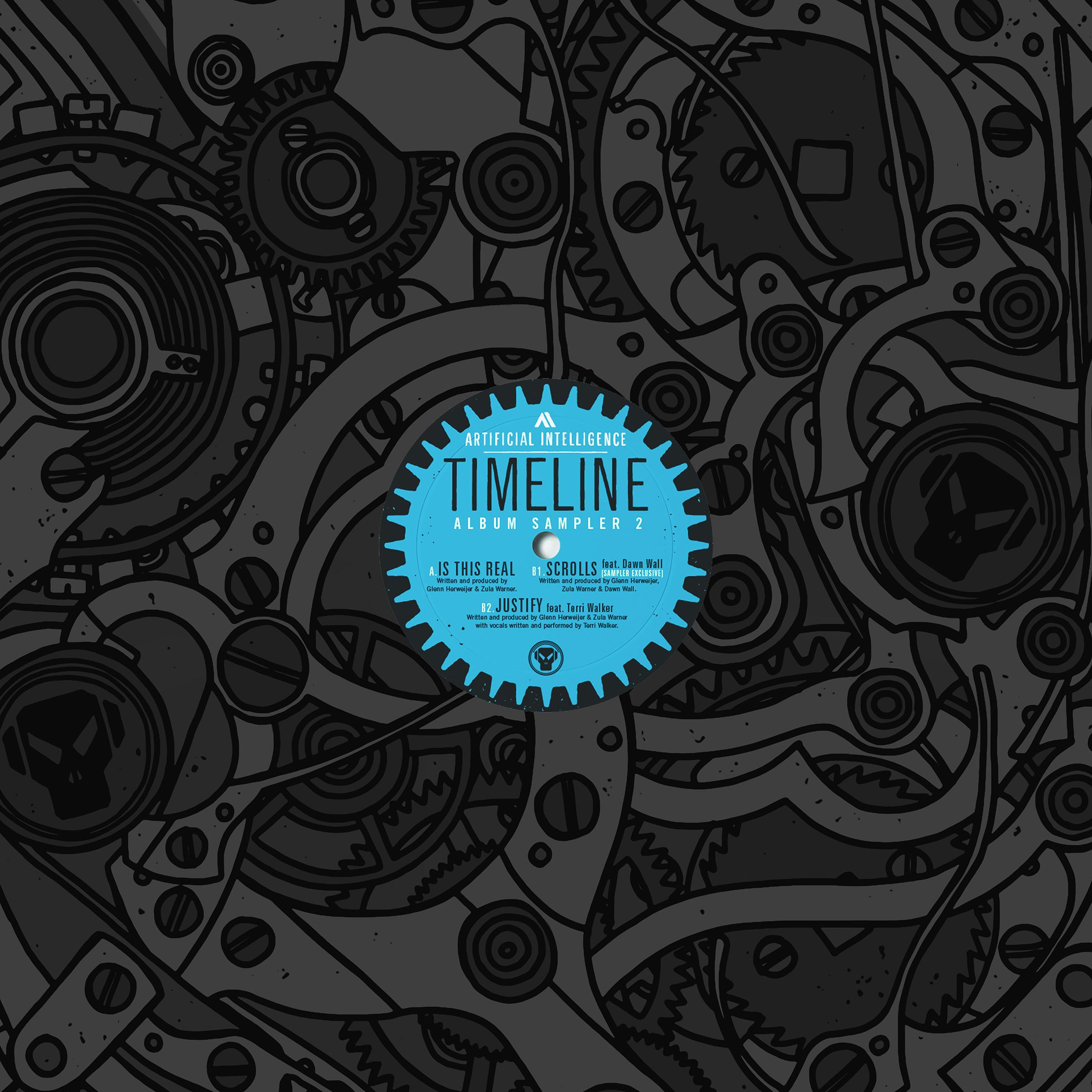 """A.I./TIMELINE ALBUM SAMPLER #2 12"""""""