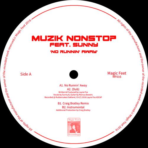 """Muzik Nonstop/NO RUNNIN' AWAY 12"""""""