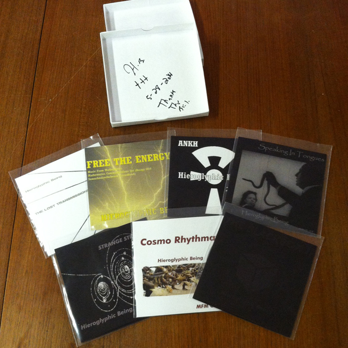 Hieroglyphic Being/MUSIC FOR MATH CD BOX